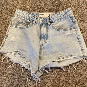 High waisted shorts size 1
